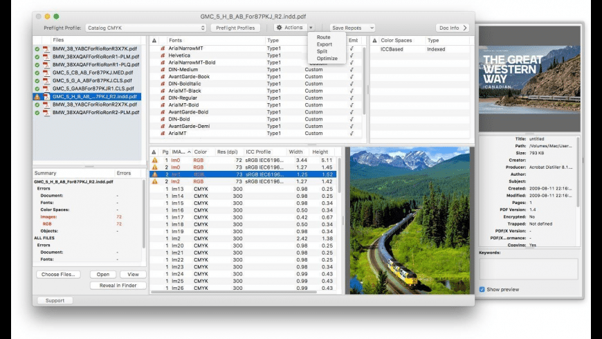 PDF Checkpoint for Mac - review, screenshots