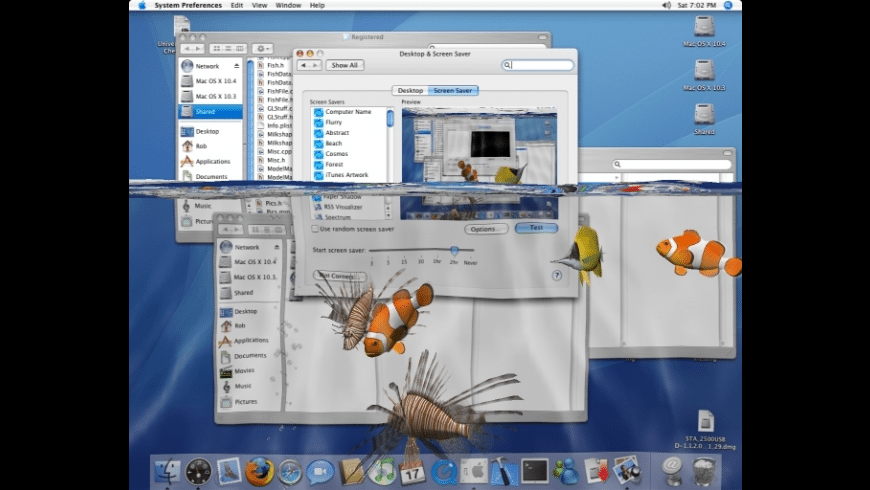3D Desktop Zombies! Screen Saver for Mac - review, screenshots