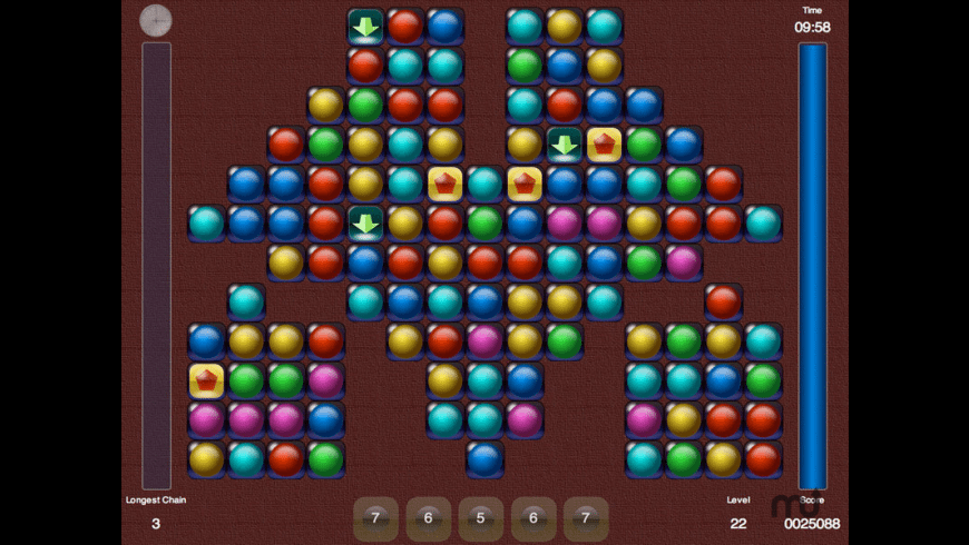 jalada Chain Reaction for Mac - review, screenshots