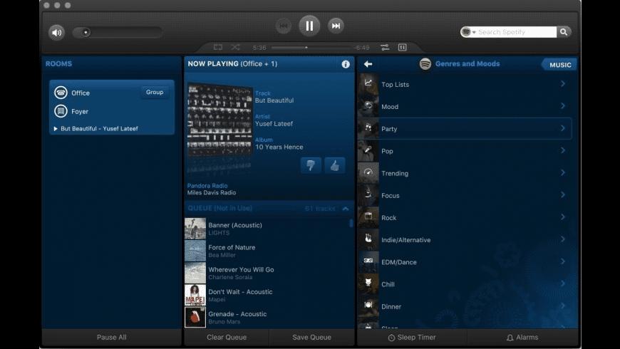 Sonos for Mac - review, screenshots