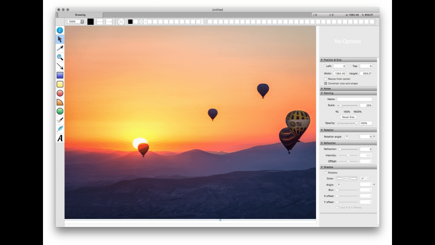 Growly Draw for Mac - review, screenshots