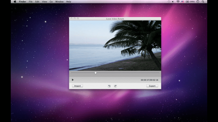 iLove Video Rotate for Mac - review, screenshots