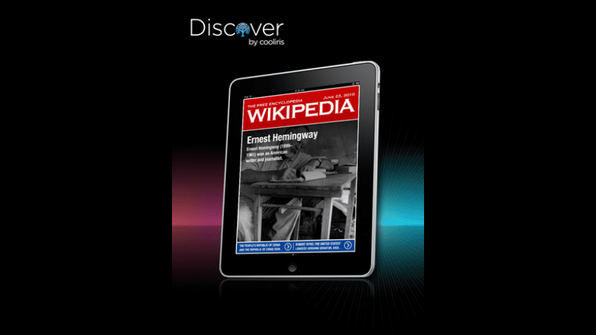 Discover -- Wikipedia in a Magazine for Mac - review, screenshots