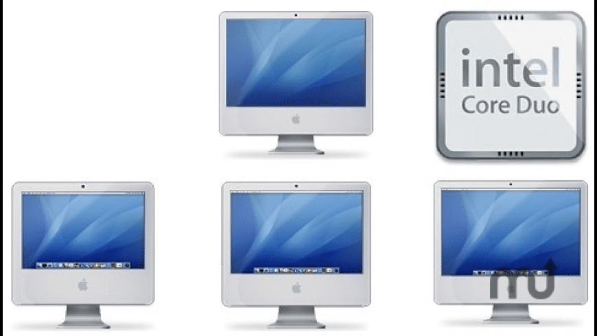 iMac Intel Core2 Duo icons for Mac - review, screenshots