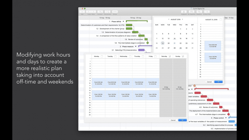 Project Office for Mac - review, screenshots
