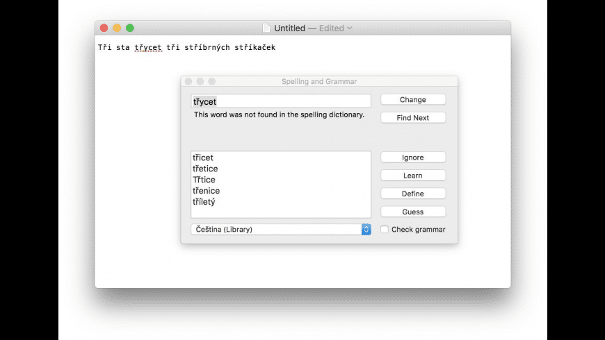 Dictionaries for Mac - review, screenshots