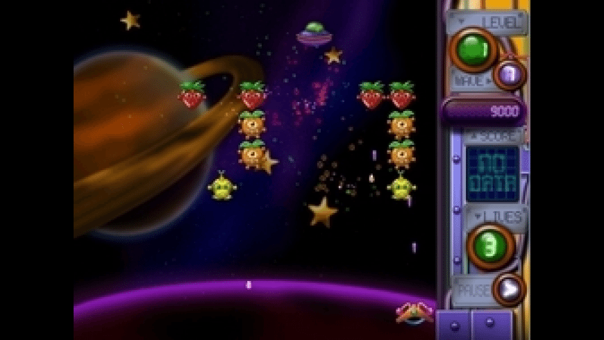 The Attack of Mutant Fruits from Outer Space for Mac - review, screenshots