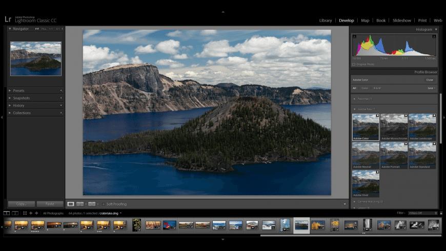 Adobe Lightroom Classic for Mac - review, screenshots