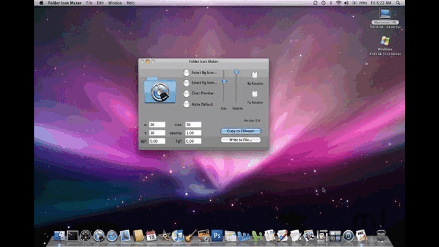 Folder Icon Maker for Mac - review, screenshots