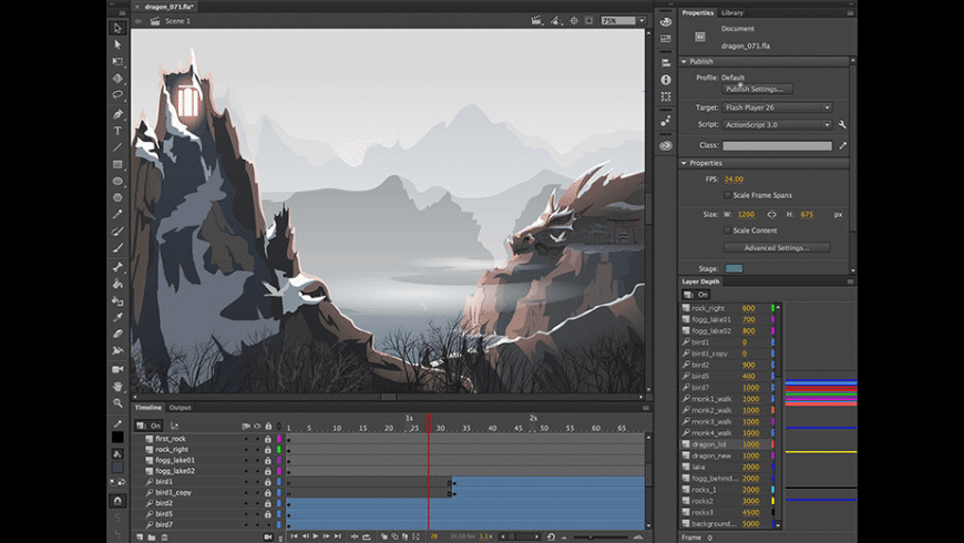 Adobe Animate CC 2020 for Mac - review, screenshots