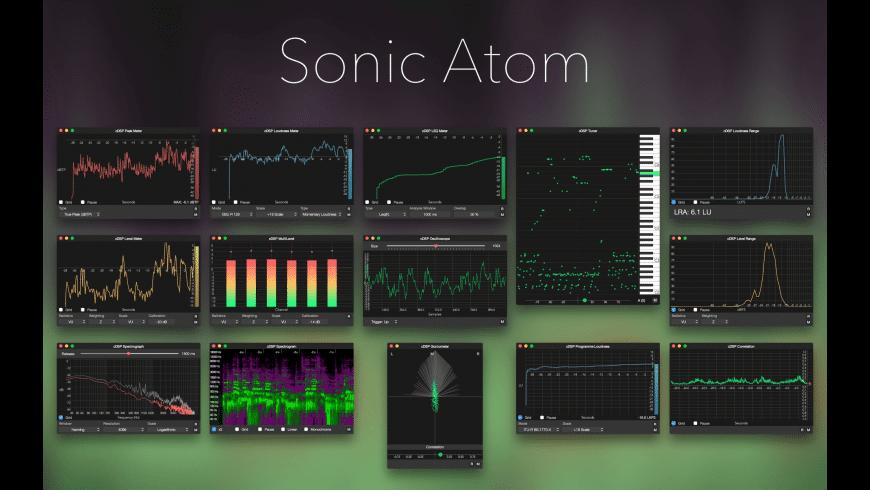 Sonic Atom for Mac - review, screenshots