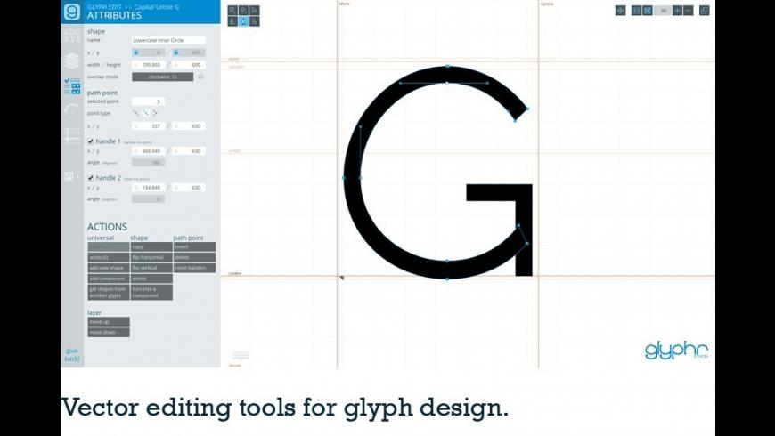 Glyphr Studio for Mac - review, screenshots