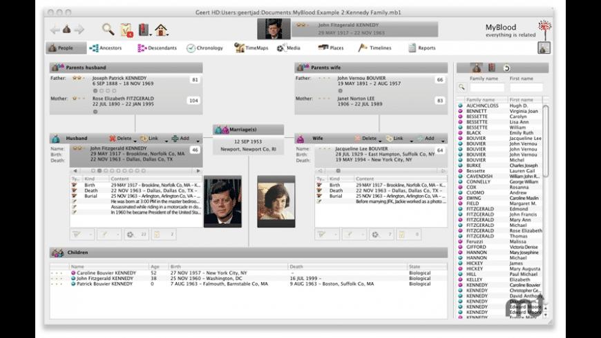 MyBlood for Mac - review, screenshots