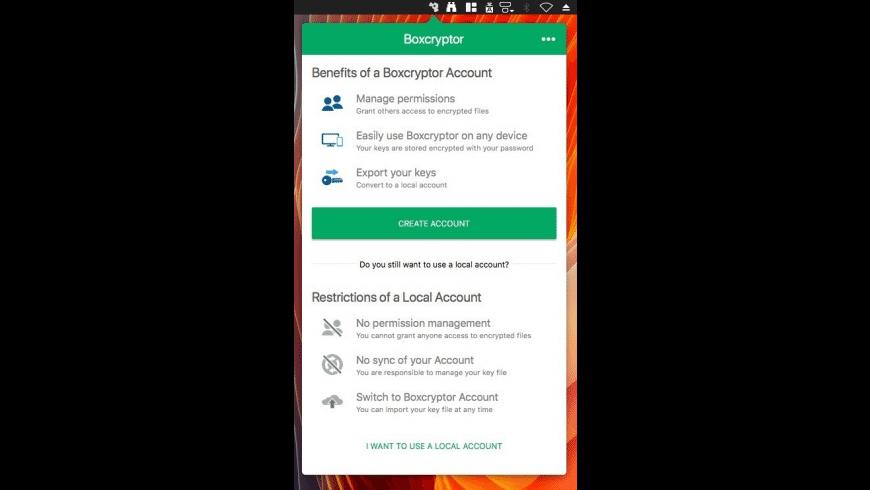 Boxcryptor for Mac - review, screenshots