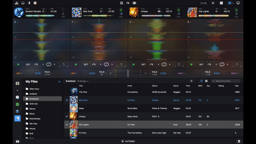 djay Pro for Mac - review, screenshots