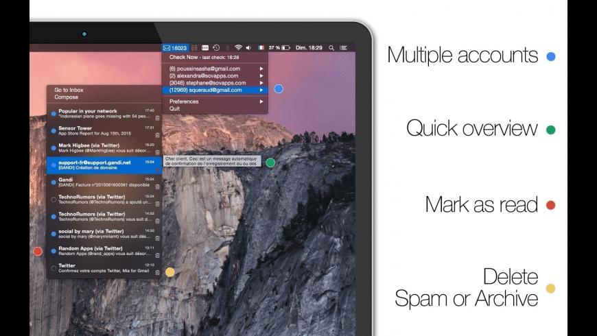 Mia for Gmail for Mac - review, screenshots