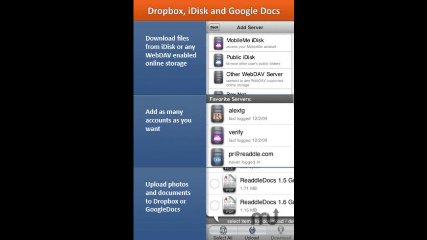 ReaddleDocs for Mac - review, screenshots