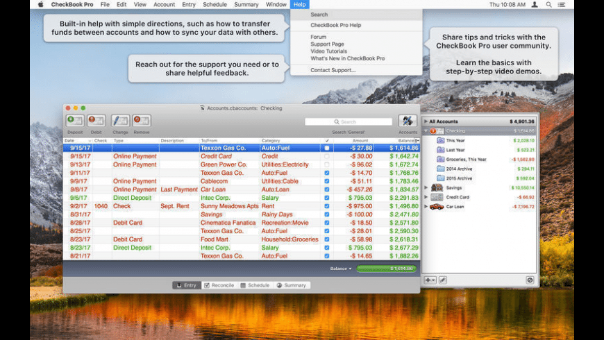 checkbook pro for mac  download free  latest version  macos