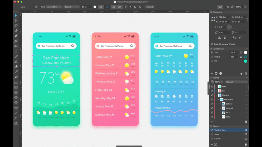 Amadine for Mac - review, screenshots