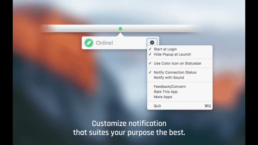 Online for Mac - review, screenshots