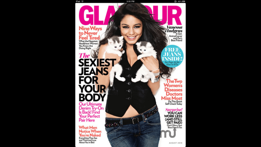 Glamour Magazine for Mac - review, screenshots