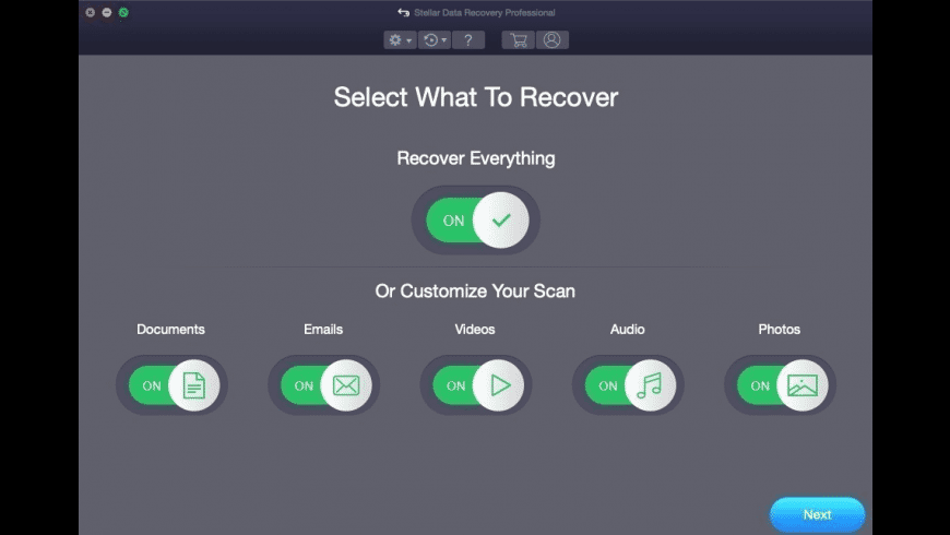 Stellar Data Recovery for Mac - review, screenshots