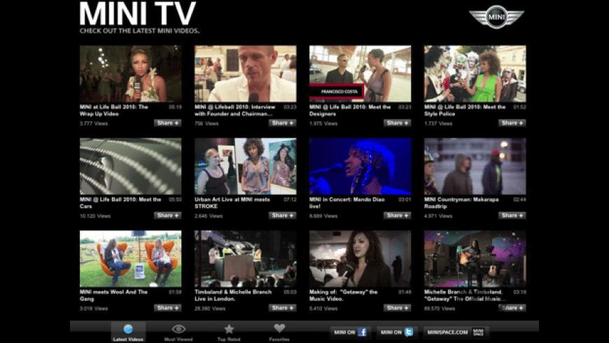 MINI TV for Mac - review, screenshots