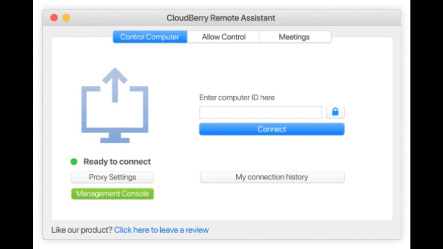 Remote Assistant for Mac - review, screenshots