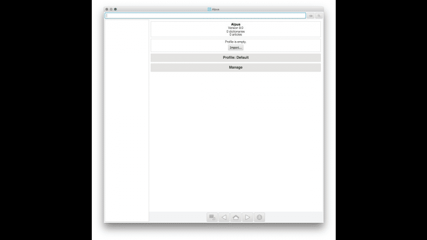 Alpus for Mac - review, screenshots