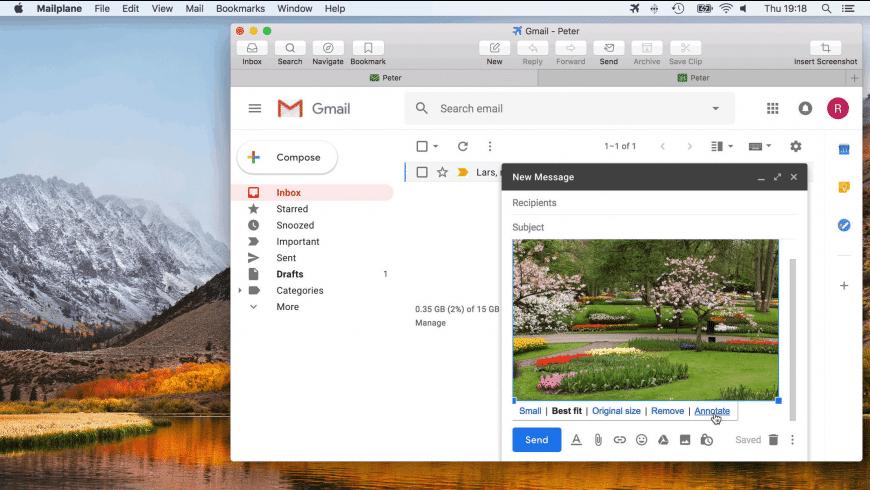 Mailplane for Mac - review, screenshots