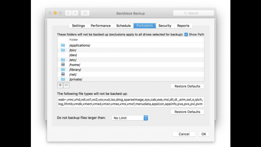 Backblaze for Mac - review, screenshots