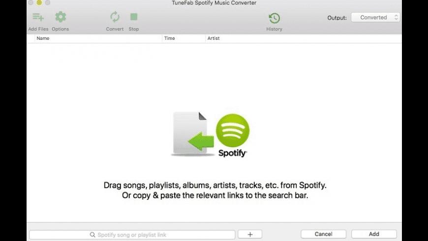 TuneFab Spotify Music Converter for Mac - review, screenshots