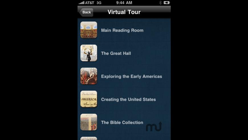 Library Of Congress - Virtual Tour for Mac - review, screenshots