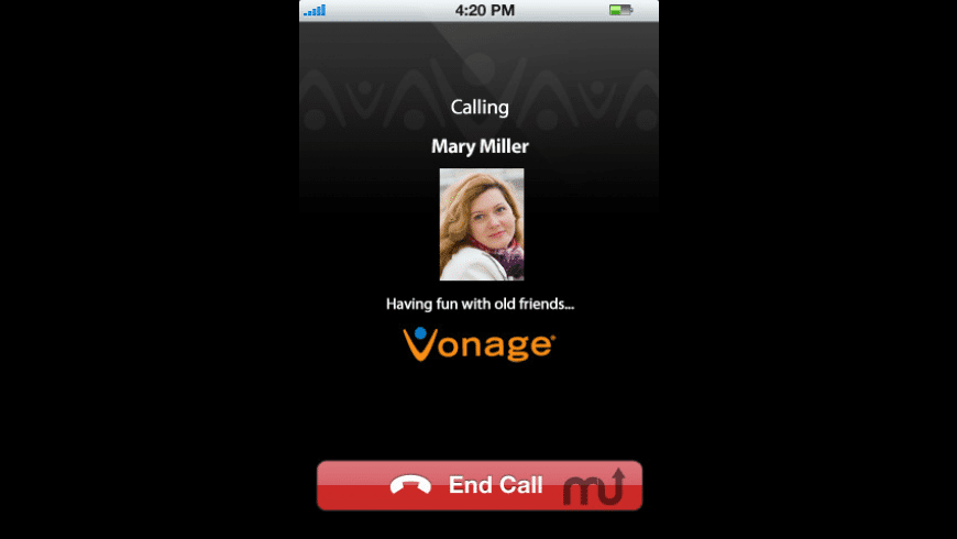 Vonage Mobile for Facebook for Mac - review, screenshots