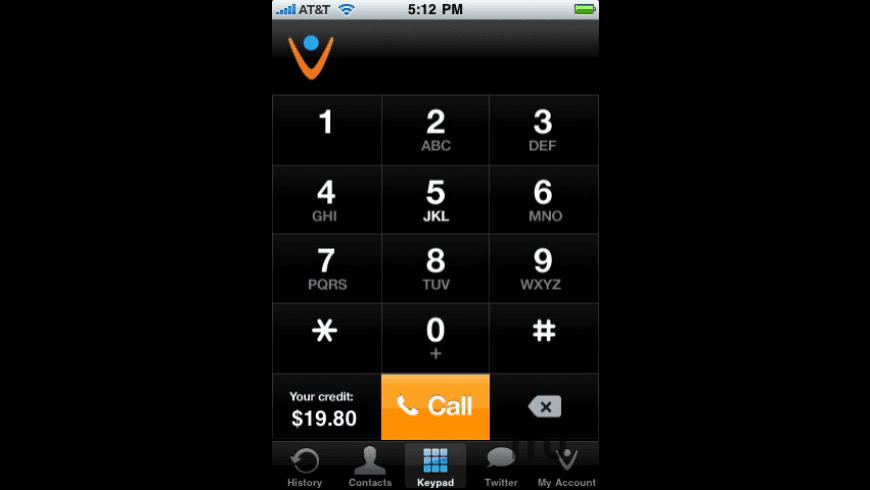 Vonage Mobile for iPhone for Mac - review, screenshots