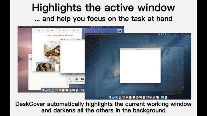 DeskCover Pro for Mac - review, screenshots