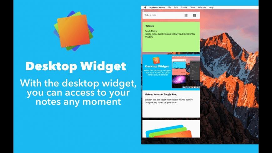 KeepNotes for Google Keep for Mac - review, screenshots