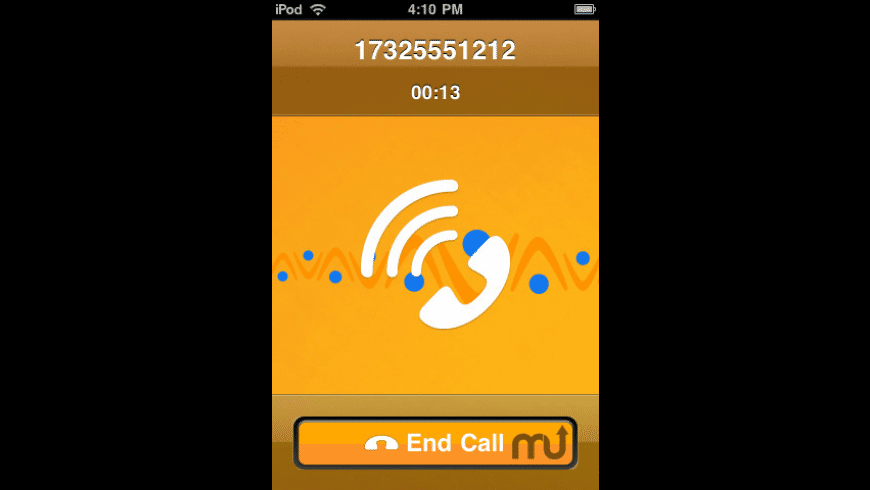 Vonage Mobile for iPod touch for Mac - review, screenshots