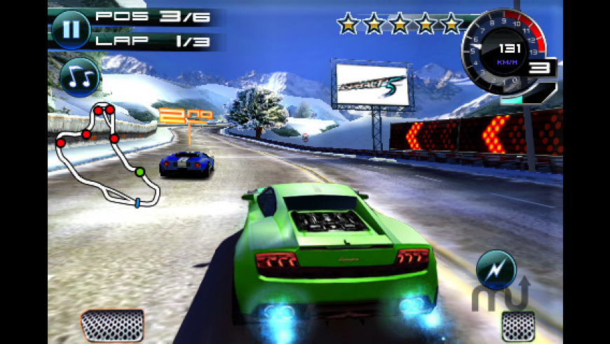 Asphalt 5 for Mac - review, screenshots