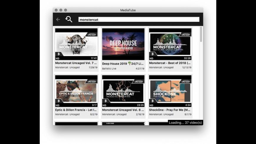 MediaTube for Mac - review, screenshots