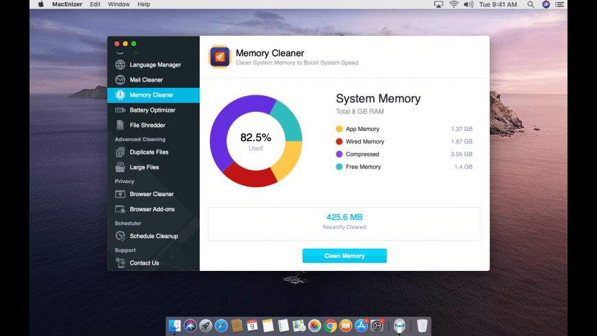 MacEnizer for Mac - review, screenshots