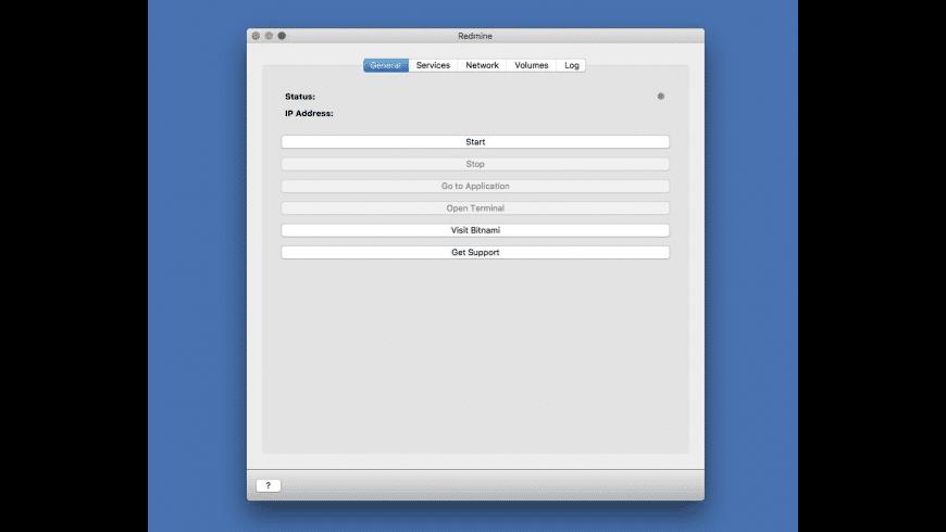 BitNami Redmine for Mac - review, screenshots