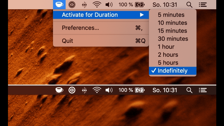 KeepingYouAwake for Mac - review, screenshots