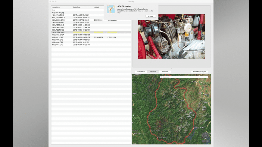 GeoTag for Mac - review, screenshots