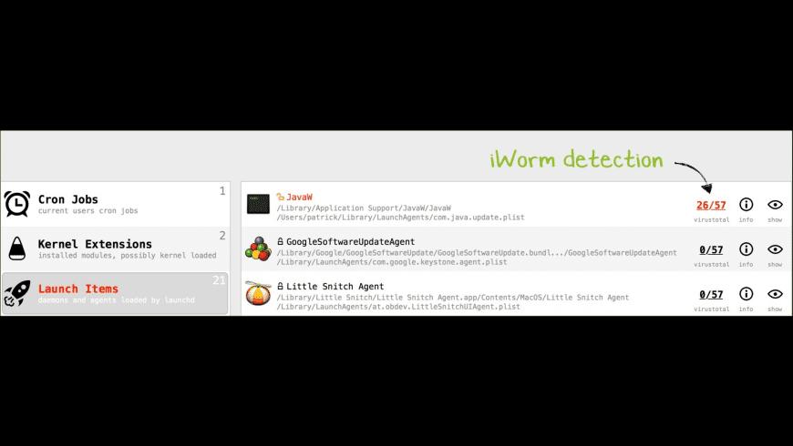 KnockKnock for Mac - review, screenshots