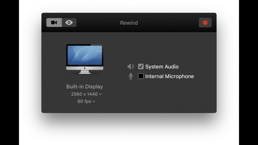 Rewind for Mac - review, screenshots