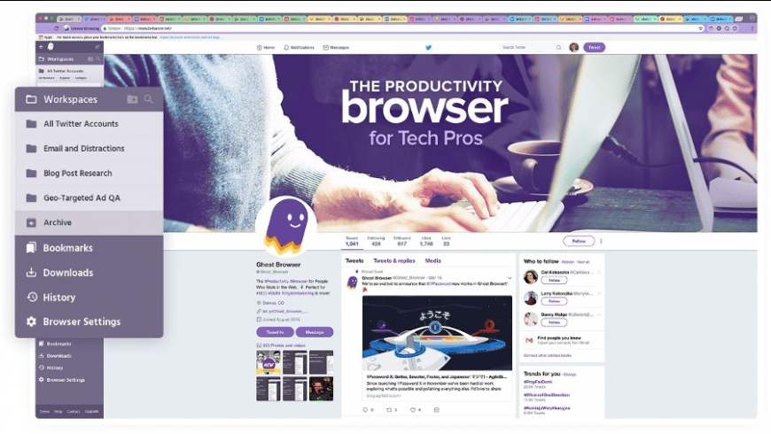 Ghost Browser for Mac - review, screenshots