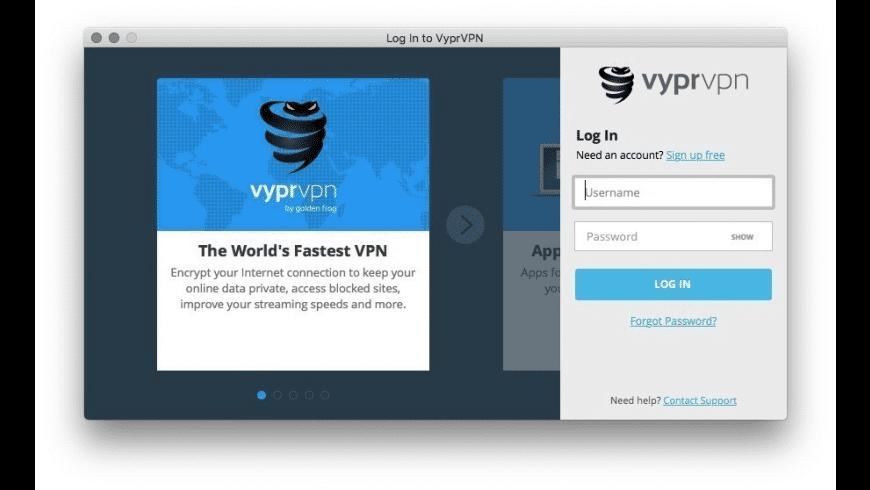 VyprVPN for Mac - review, screenshots