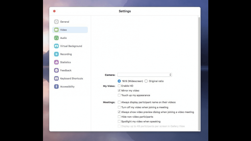 Zoom for Mac - review, screenshots