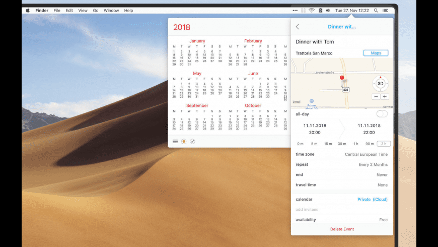 Calendar 366 II for Mac - review, screenshots